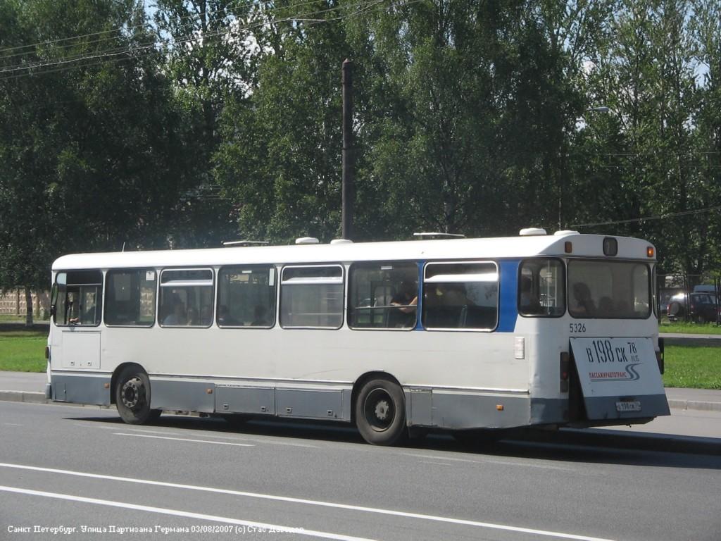 Saint-Petersburg, MAN SL200 # 5326