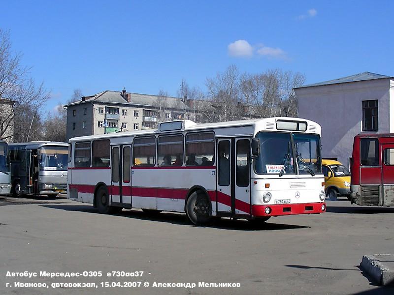 Ivanovo region, Mercedes-Benz O305 # Е 730 АА 37