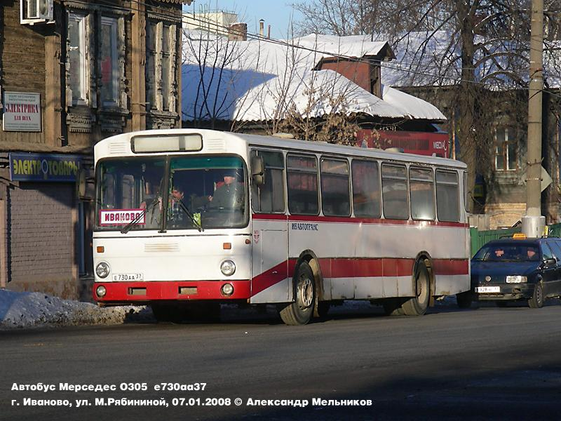 Ivanovo region, Mercedes-Benz O305 # Е 730 АА 37