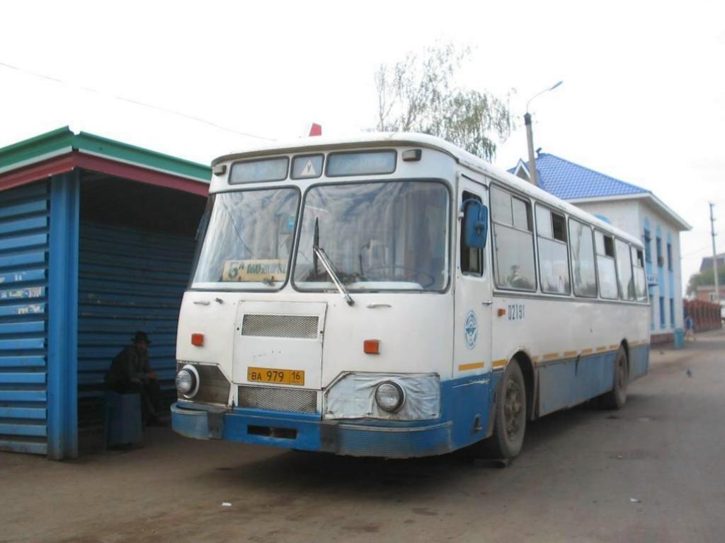 Tatarstan, LiAZ-677M # 02191