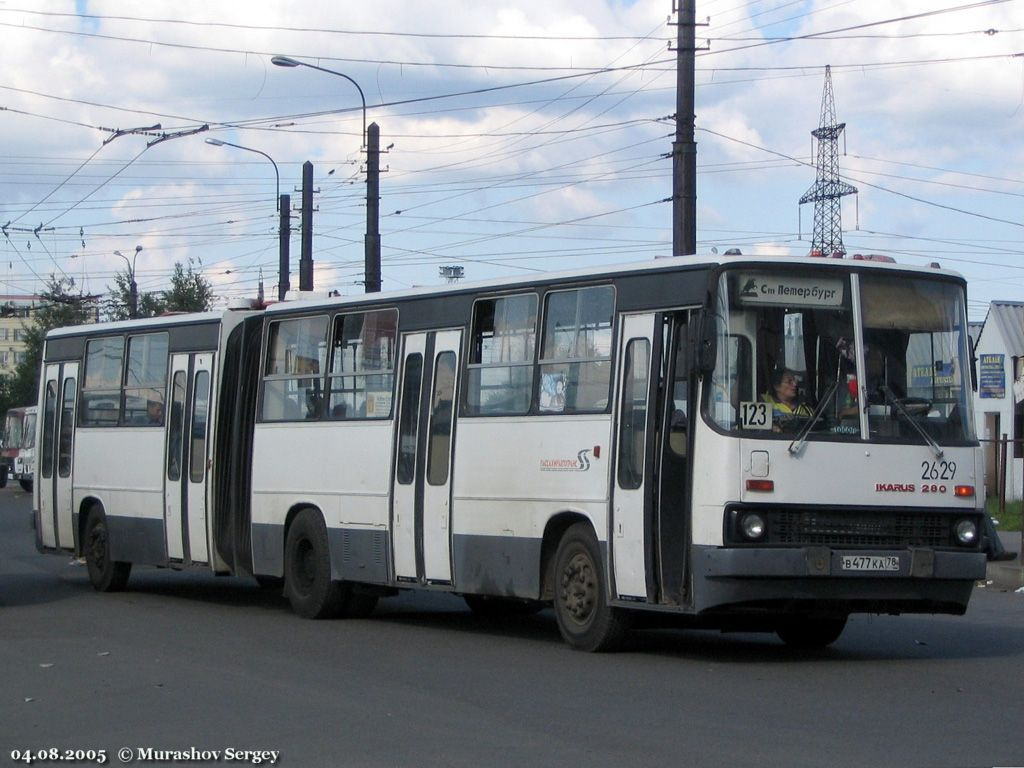 Saint Petersburg, Ikarus 280.33O # 2629