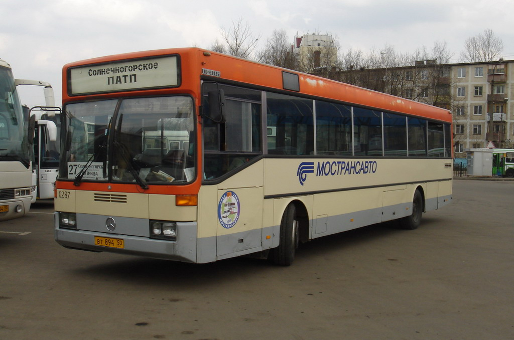 Moscow region, Mercedes-Benz O405 # 0287