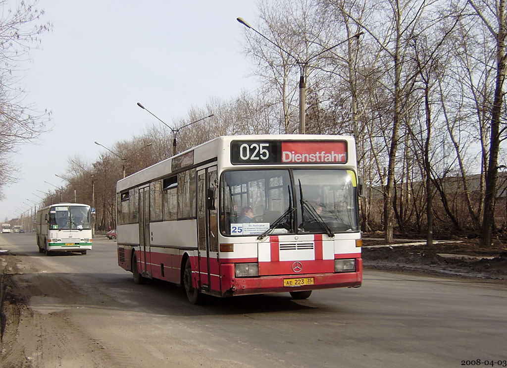 Vologda region, Mercedes-Benz O405 # АЕ 223 35