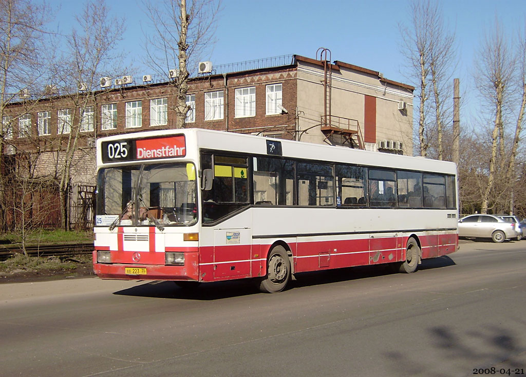 Vologda region, Mercedes-Benz O405 # АЕ 223 35