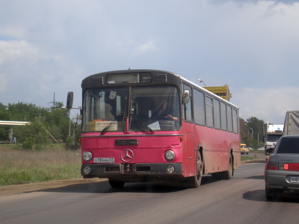 Samara region, Mercedes-Benz O307 # О 784 МА 63