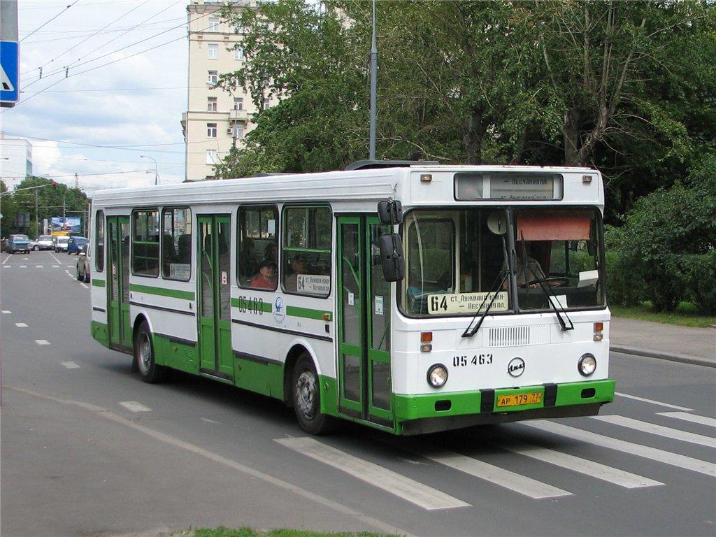 Moscow, LiAZ-5256.25 # 05463