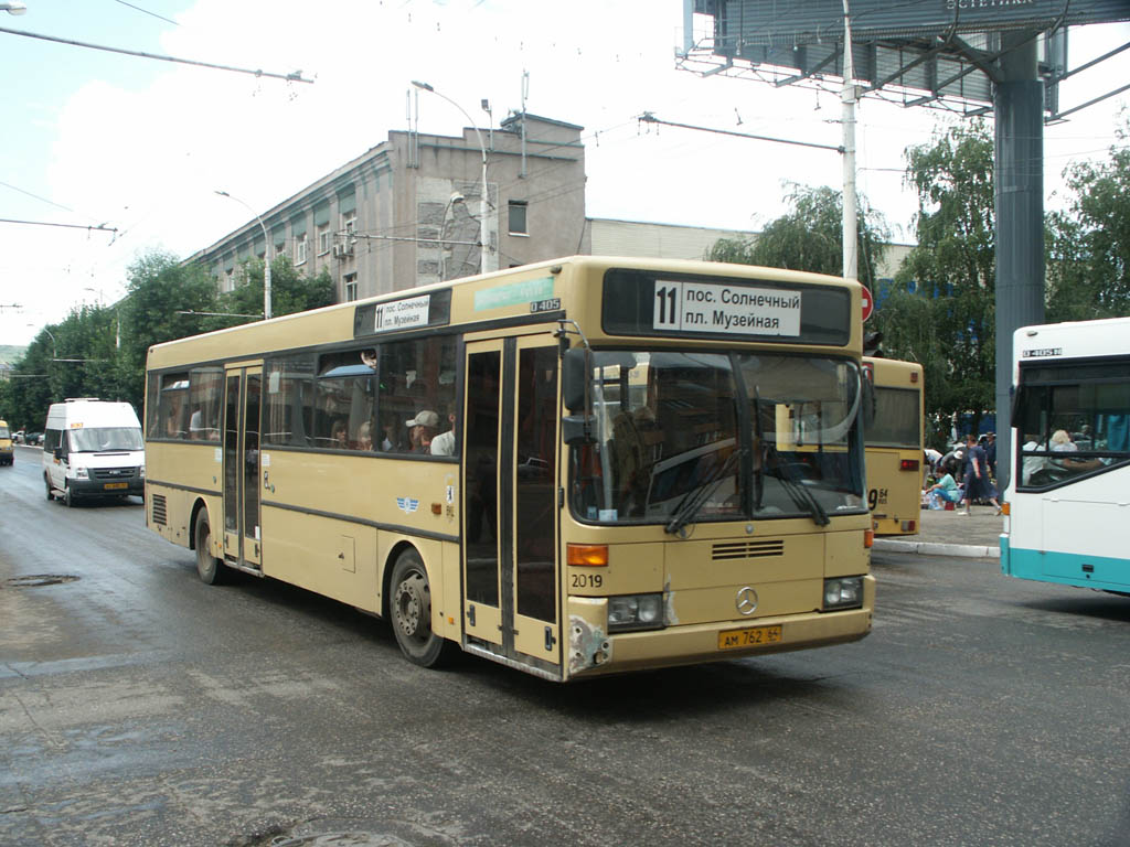 Saratov region, Mercedes-Benz O405 # АМ 762 64