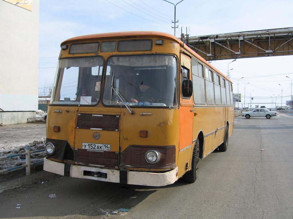 Sakha (Yakutia), LiAZ-677M (ToAZ) # У 152 АК 14