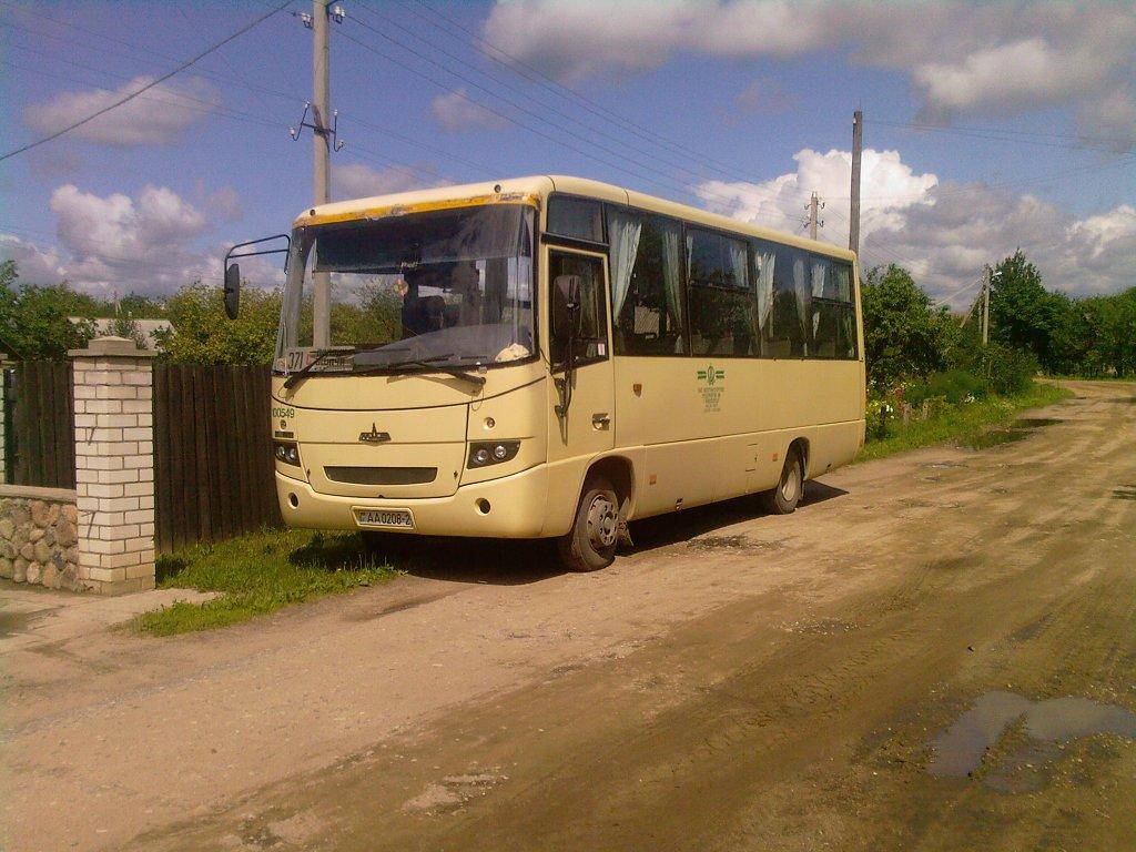 Vitebsk region, MAZ-256.200 # 100549