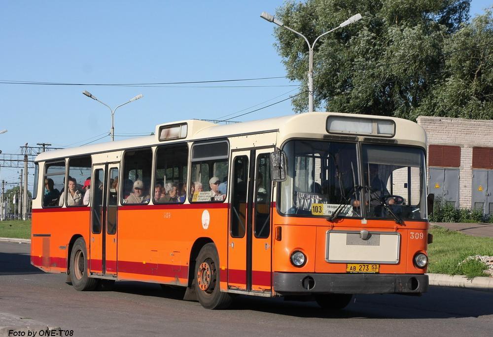 Novgorod region, MAN SL200 # 309