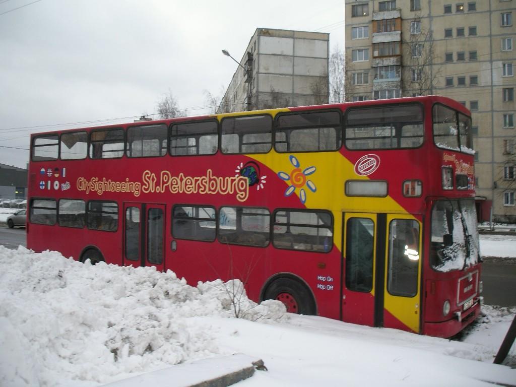 Ленинградская область, MAN SD200 № К 349 СО 47