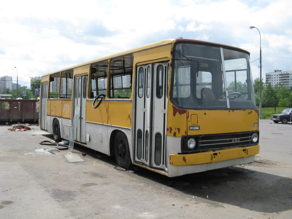 Moscow, Ikarus 260 (280) # б/№