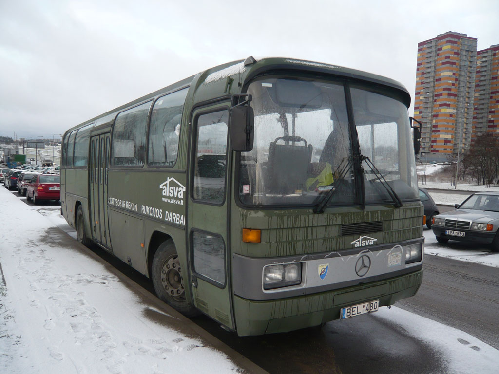 Lithuania, Mercedes-Benz O303-11ÜHE # BEL 480
