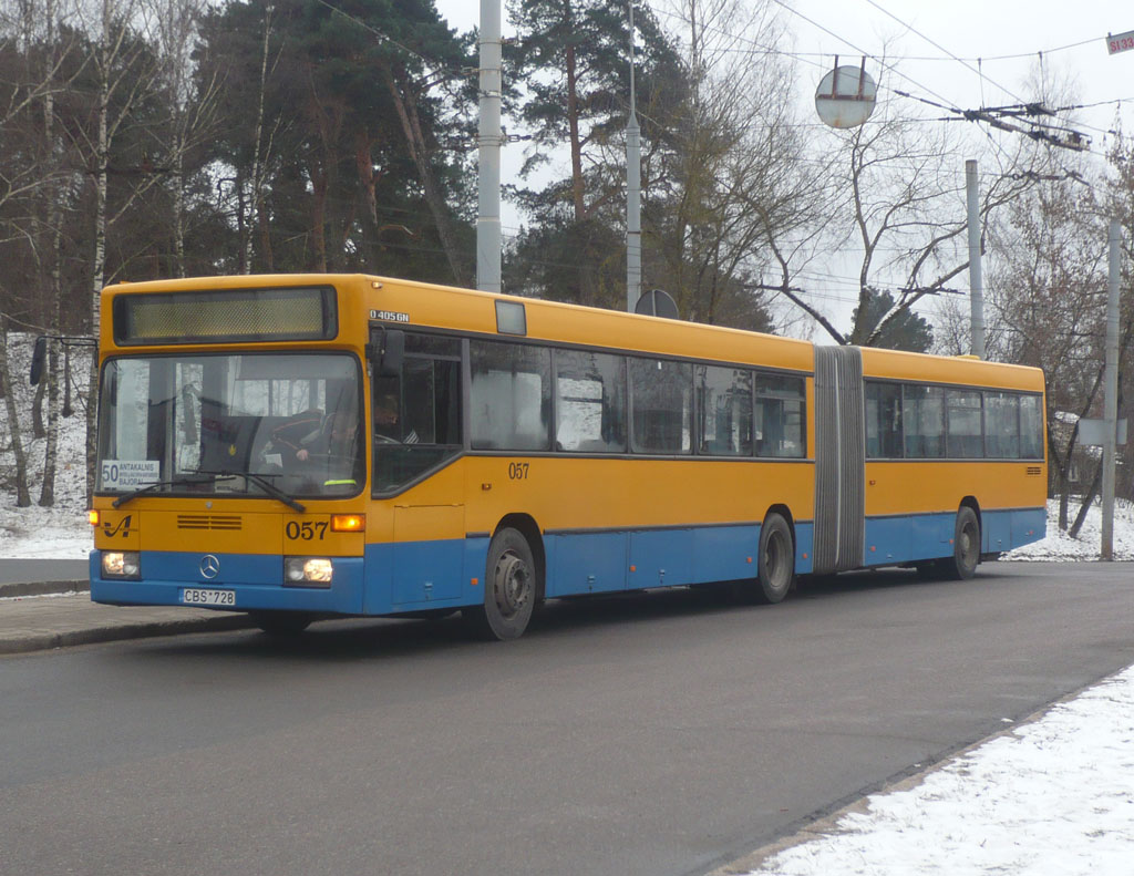 Lithuania, Mercedes-Benz O405GN # 057