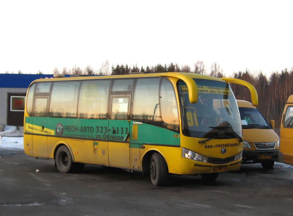 Санкт-Петербург, Yutong ZK6737D № ВА 909 78