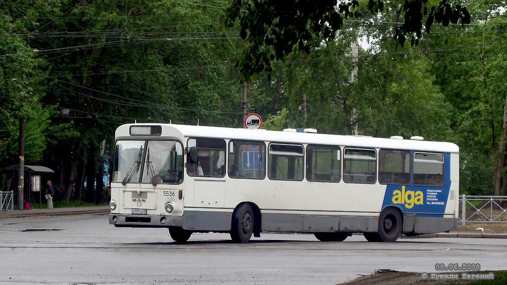 Saint-Petersburg, MAN SL200 # 5536