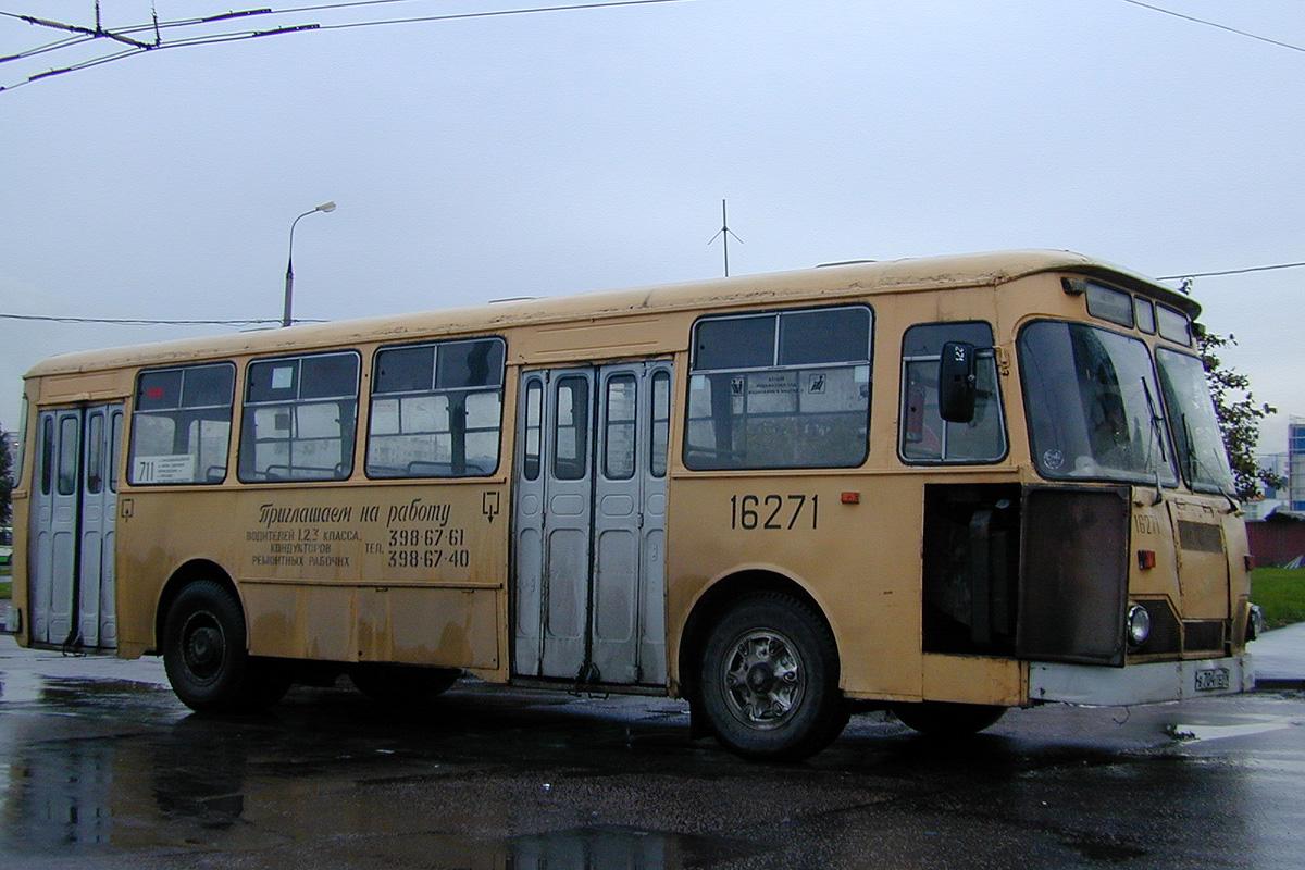 Moscow, LiAZ-677M # 16271