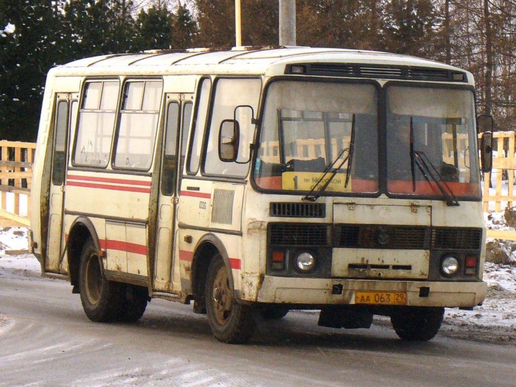 Arhangelsk region, PAZ-32051-110 (1R) # 1036