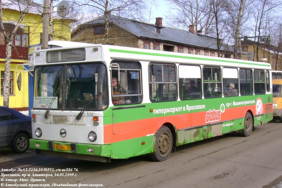 Yaroslavl region, LiAZ-5256.30 # 532
