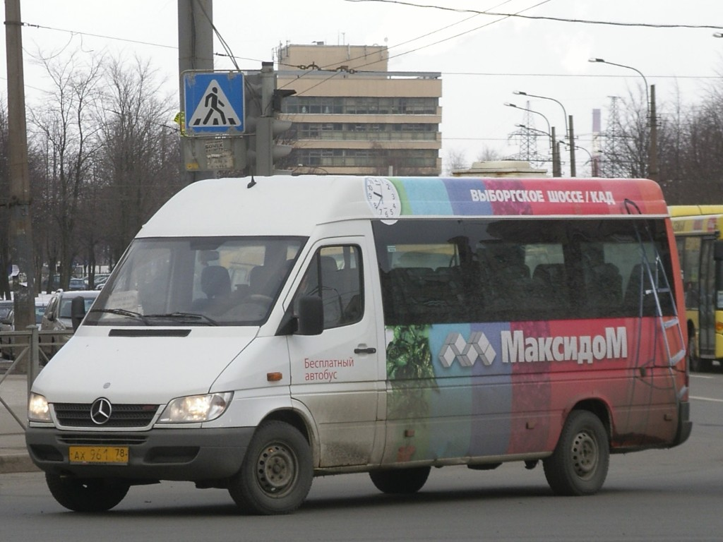 Saint-Petersburg, Mercedes-Benz Sprinter 313CDI # ВВ 355 78