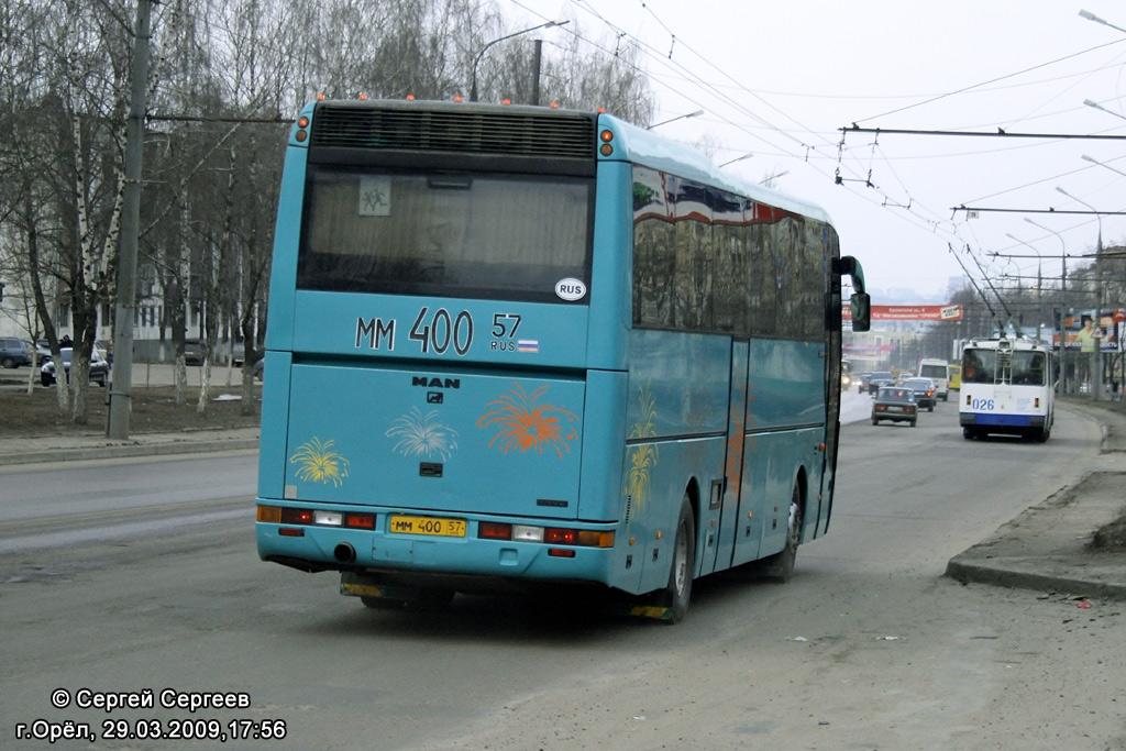 Oryol region, MAN A13 S2000 # ММ 400 57