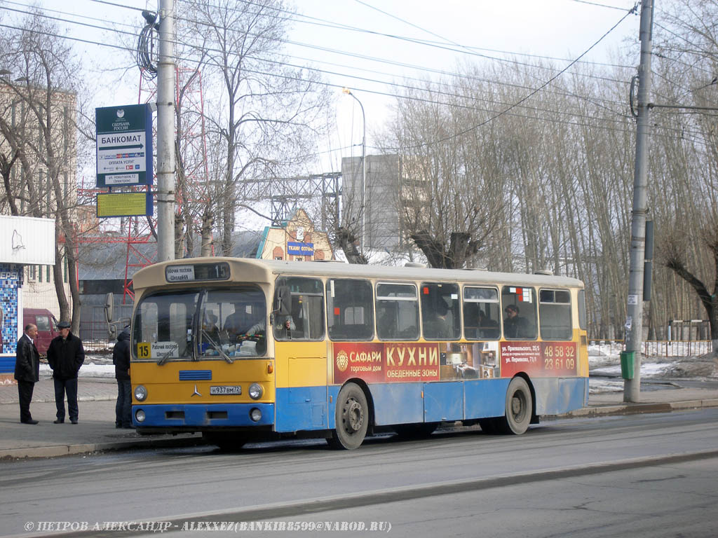 Tumen region, Mercedes-Benz O305 # Н 937 ВМ 72