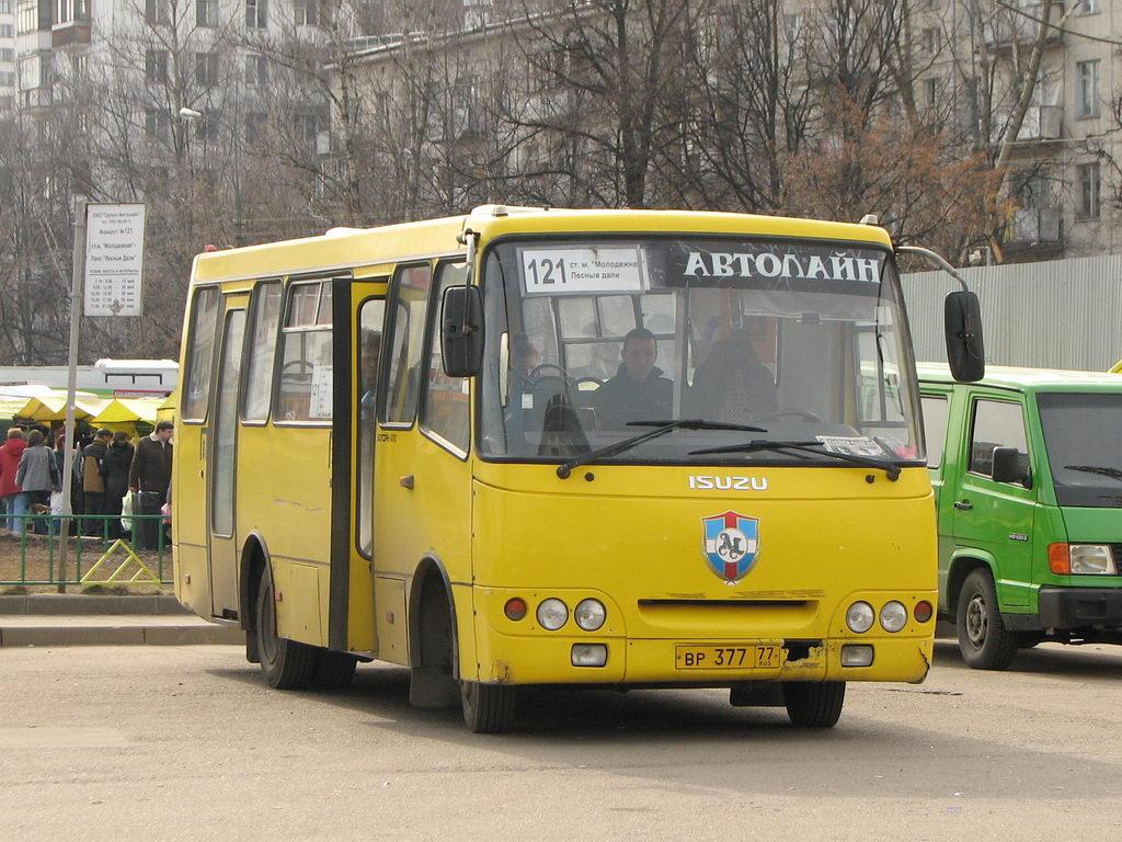 Moscow region, Bogdan A09202 # ВР 377 77