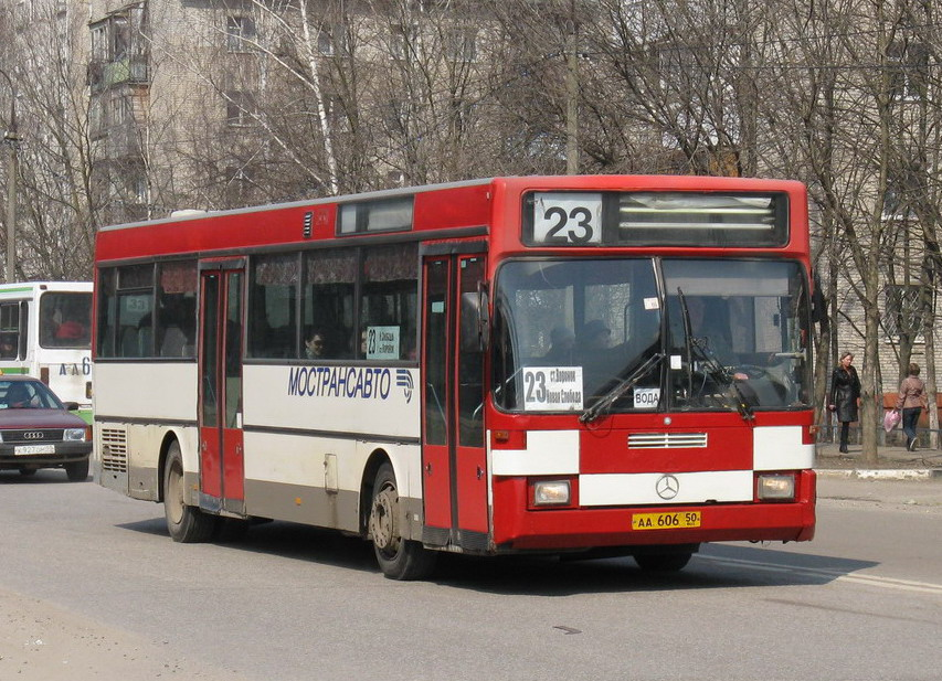 Moscow region, Mercedes-Benz O405 # 1027