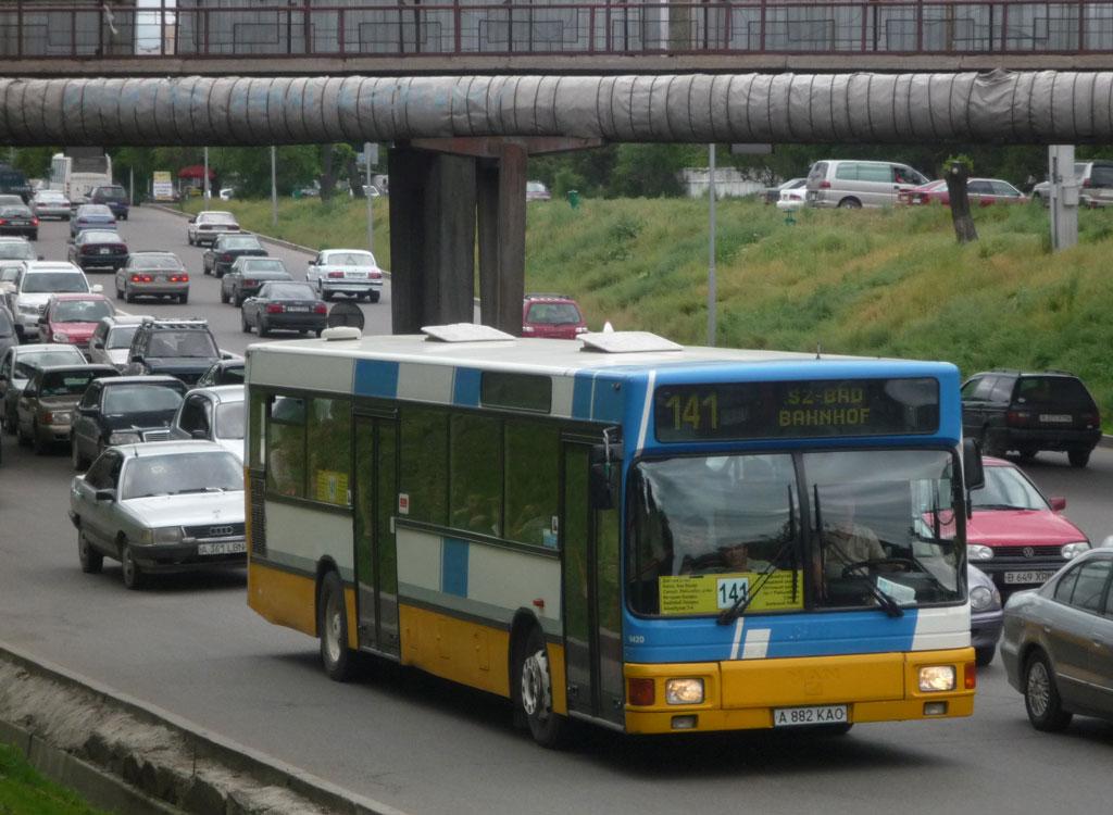 Almaty, MAN A12 EL202 # A 882 KAO
