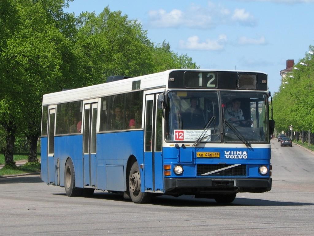 Leningrad region, Wiima K202 # АВ 446 47