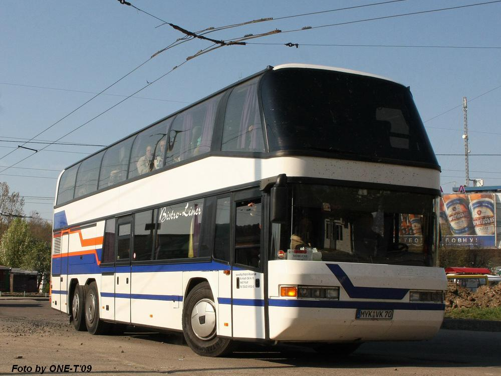 Germany, Neoplan N122/3 Skyliner # MYK-VK 70