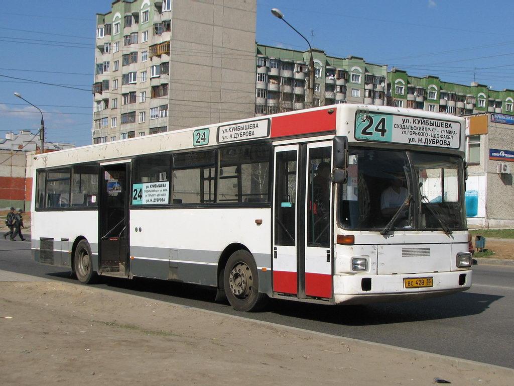 Vladimir region, MAN SL202 # ВС 428 33