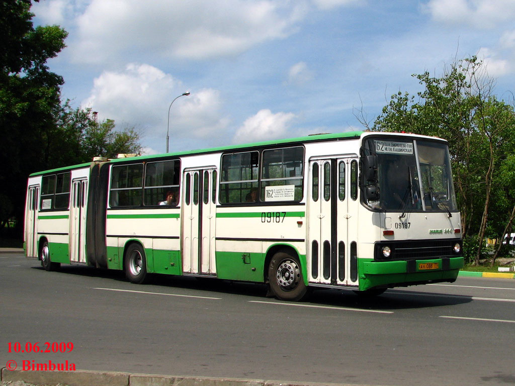 Moscow, Ikarus 280.33M # 09187