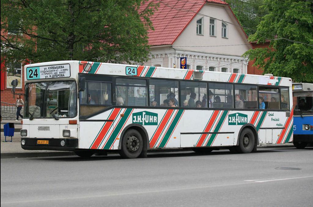 Vladimir region, MAN SL202 # ВО 617 33