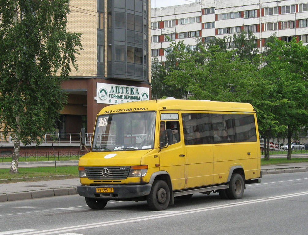 Saint-Petersburg, Mercedes-Benz Vario 612D # АВ 085 78