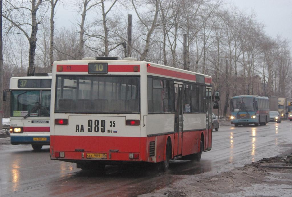 Vologda region, Mercedes-Benz O405 # АА 989 35