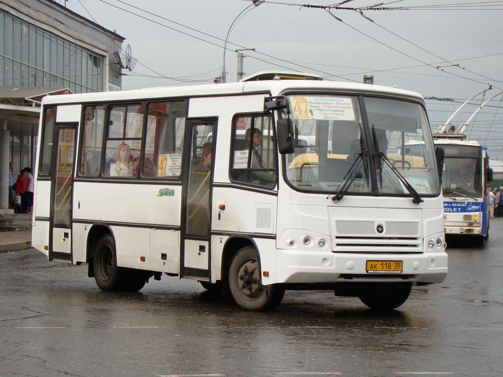 Vologda region, PAZ-320402-03 (2C) # АК 118 35