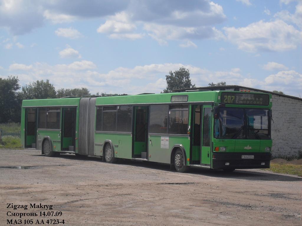Grodno region, MAZ-105.065 # 31161