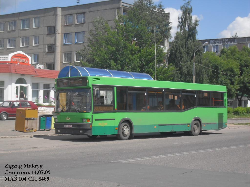 Grodno region, MAZ-104.025 # 30996