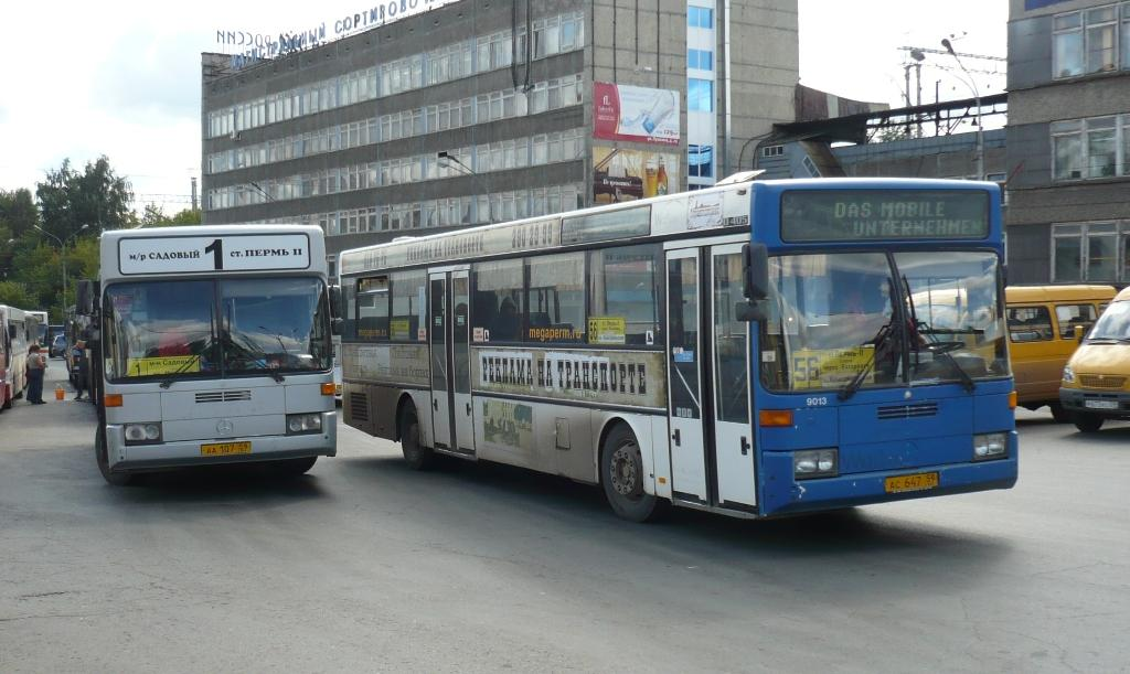Perm region, Mercedes-Benz O405 # АС 647 59