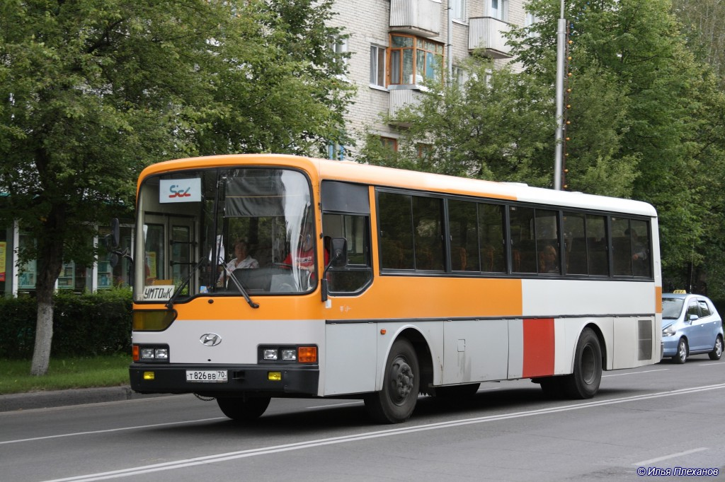 Tomsk region, Hyundai AeroCity 540 # Т 826 ВВ 70