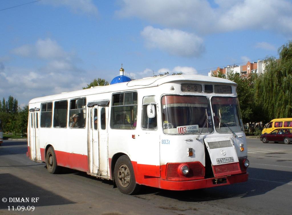 Volgograd region, LiAZ-677M # 8031