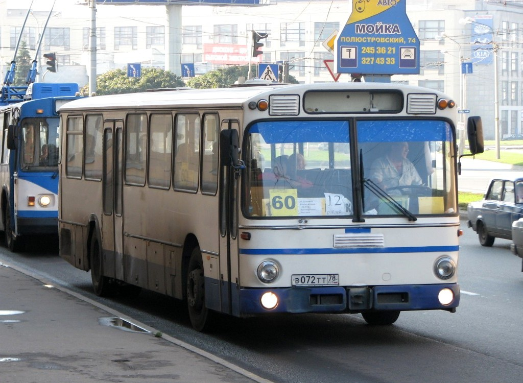 Saint-Petersburg, Mercedes-Benz O307 # В 072 ТТ 78
