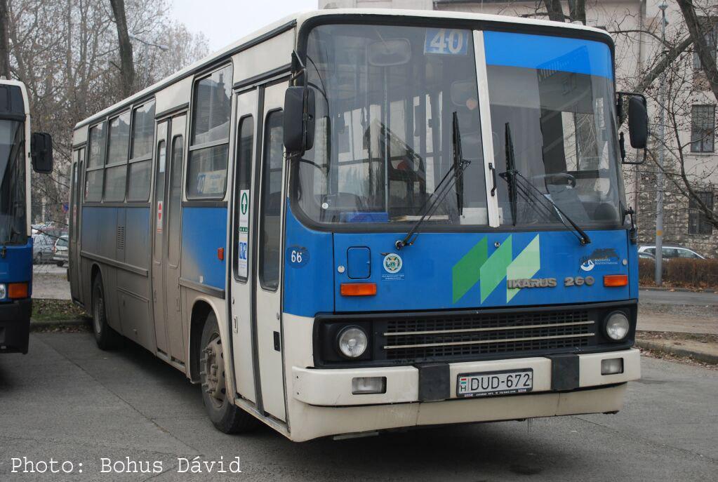 Hungary, Ikarus 260.54A # 66