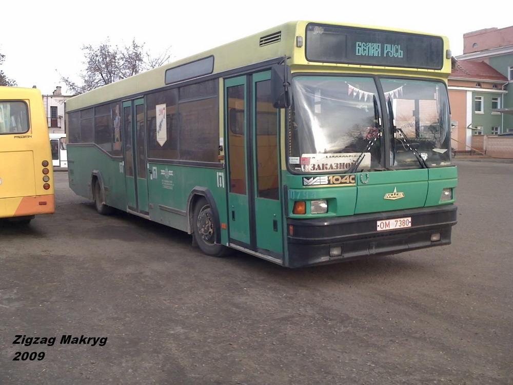 Minsk region, MAZ-104.C21 # 10794