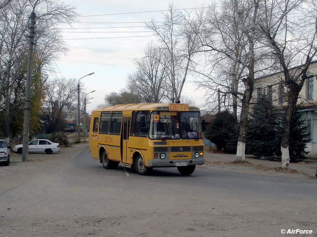Волгоградская область, ПАЗ-32053-70 (EX, CX, BX) № М 190 АХ 34