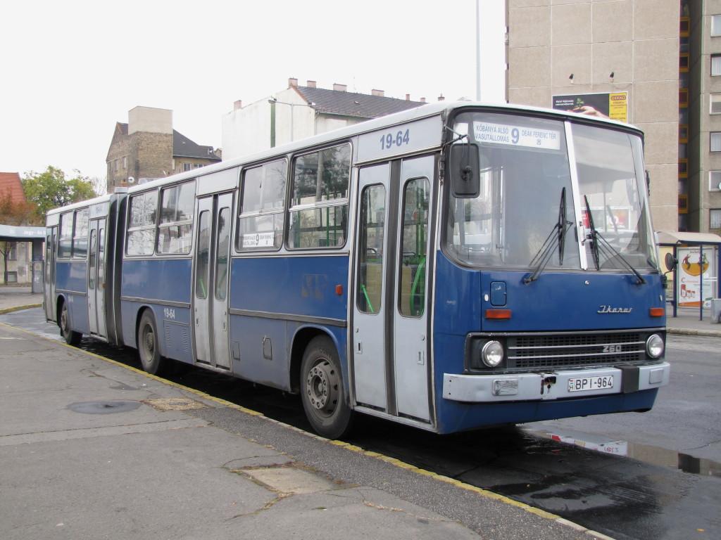 Hungary, Ikarus 280.49 # 19-64