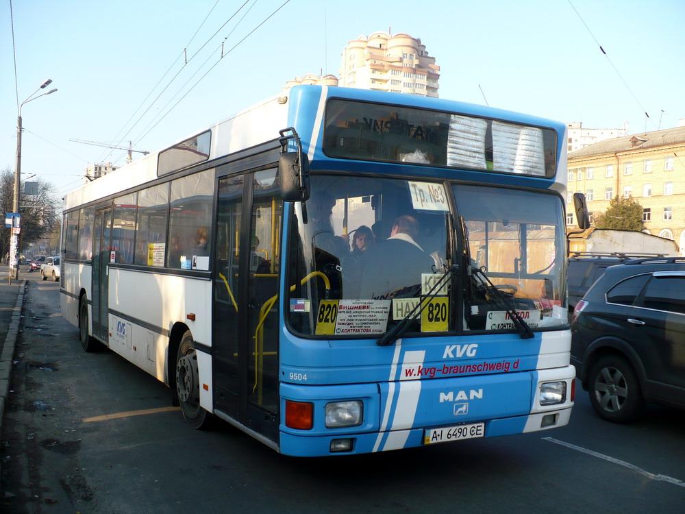 Kyiv region, MAN A12 EL222 # АІ 6490 СЕ