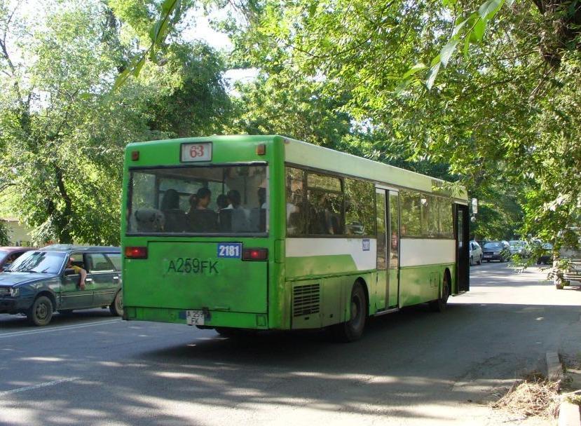 Almaty, Mercedes-Benz O405 # 2181