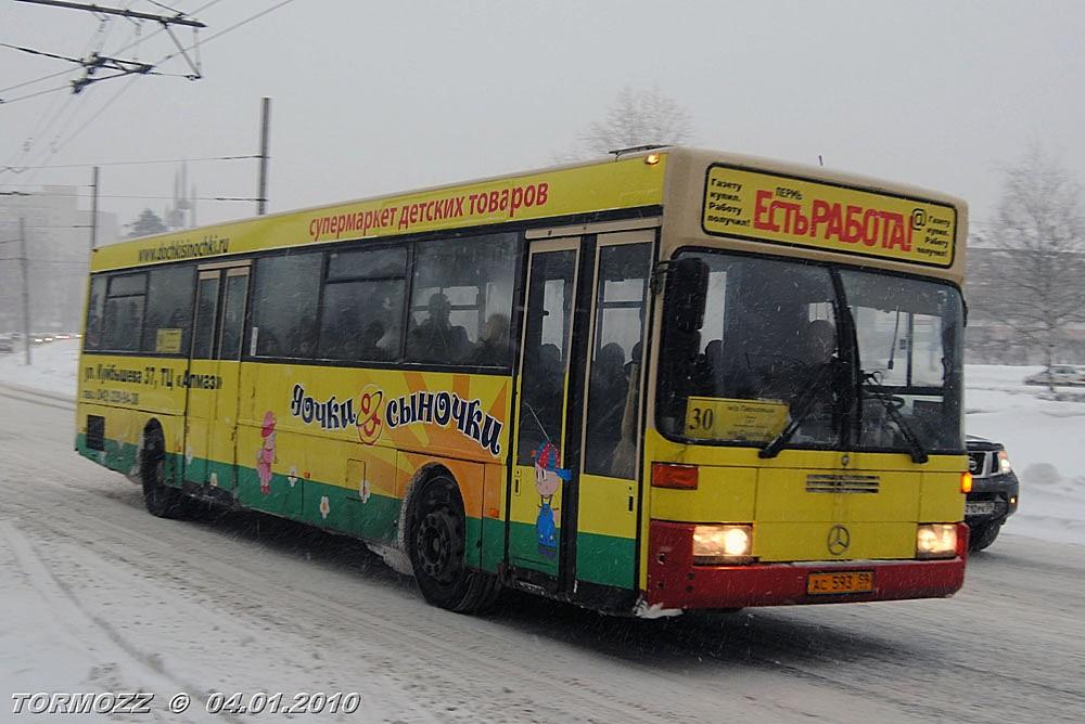 Perm region, Mercedes-Benz O405 # АС 593 59